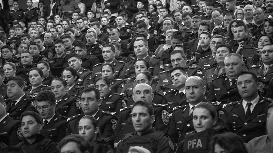 bullrich-schiaretti-policia-cba-federal-gendarmeria-caliente