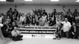 Trabajadores desmienten que en los medios públicos se respete el pluralismo