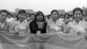 Mujeres presentes en los procesos de paz