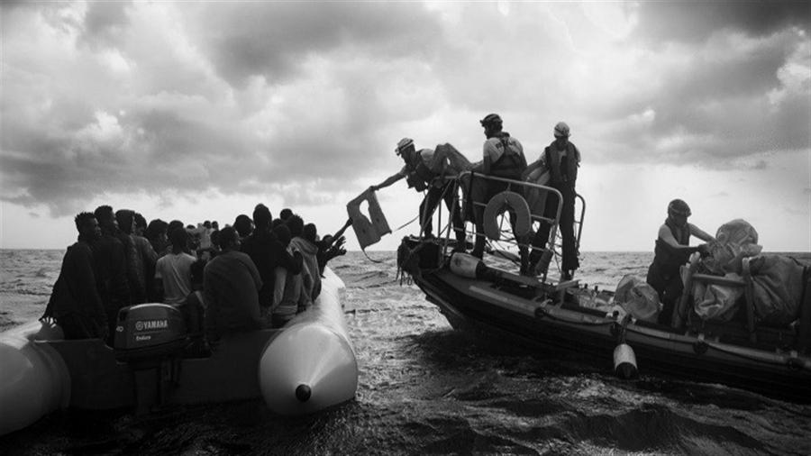 Inmigrantes-rescate-mar-Mediterraneo-la-tinta