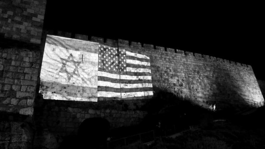 Israel-Estados-Unidos-banderas-la-tinta