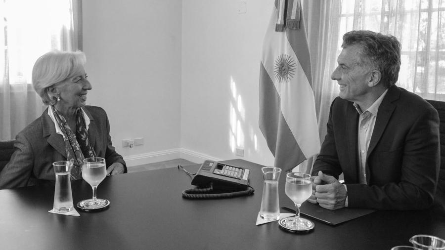 Macri-Lagarde-FMI