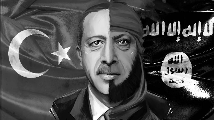 Erdogan-ISIS-Siria-la-tinta
