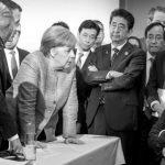 La foto del G7 que lo dice todo de las relaciones de Estados Unidos con sus presuntos aliados