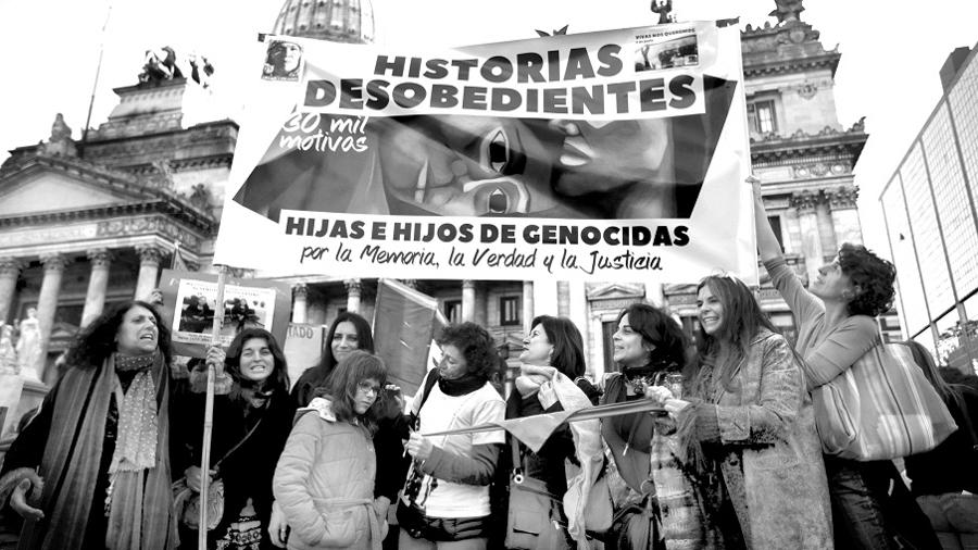Historias desobedientes hijos genocidas