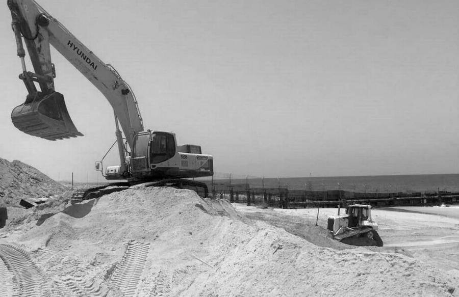 Israel-construye-muro-bajo-agua-Gaza-la-tinta