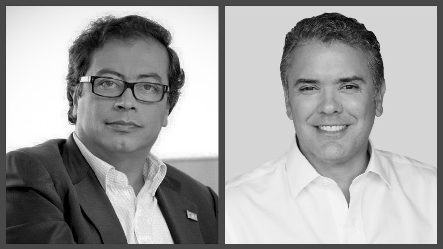 Ivan-Duque-Gustavo-Petro-Colombia-elecciones-la-tinta