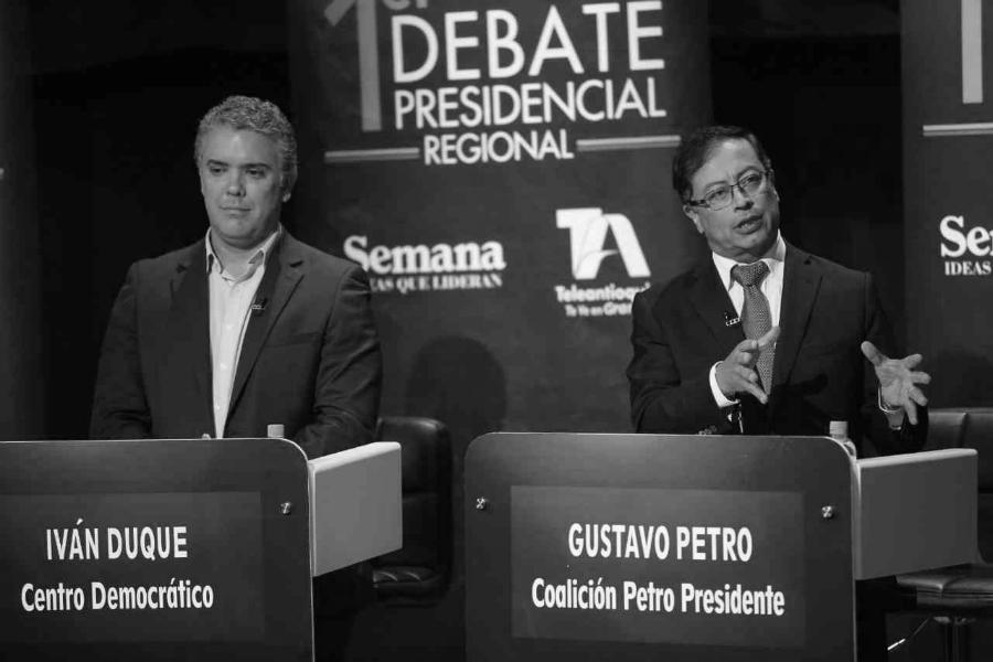 Ivan-Duque-Gustavo-Petro-campaña-presidencial-la-tinta