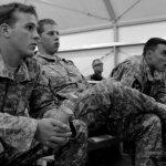 Militares estadounidenses se entrenan sin culpas