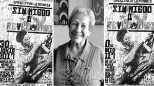 Mirna Paiz: la mujer del fusil de los afiches