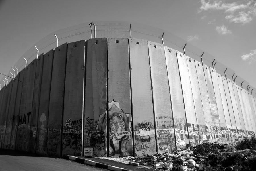 Palestina-muro-de-separación-la-tinta