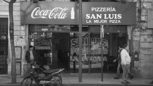 Pizzería San Luis, elogio del bodegón
