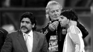"""""""El sistema te castiga, no se puede aceptar otro Maradona"""""""