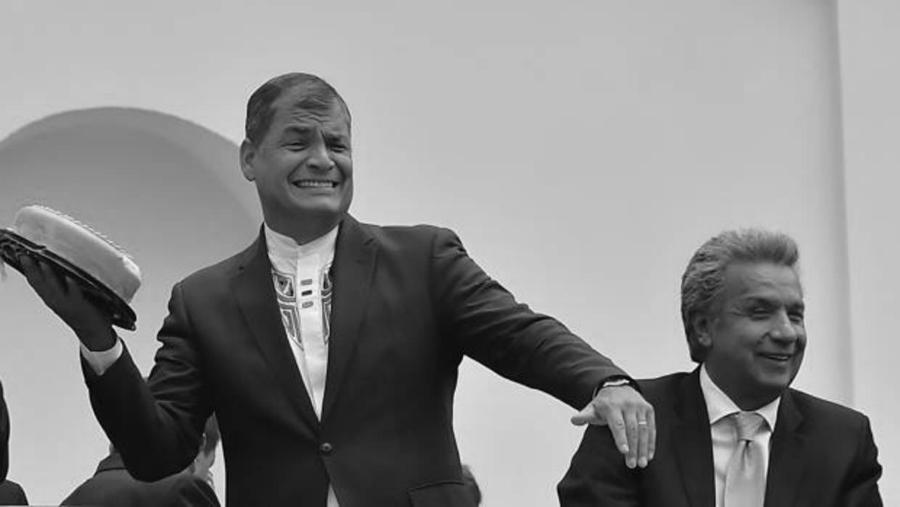 Ecuador-Rafael-Correa-Lenin-Moreno-la-tinta