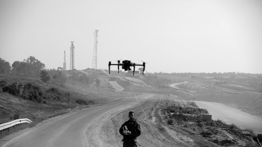 Israel-soldados-drones-la-tinta