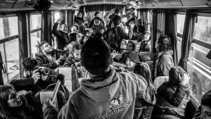 De caravana: el grito de La Poderosa llega a Porto Alegre