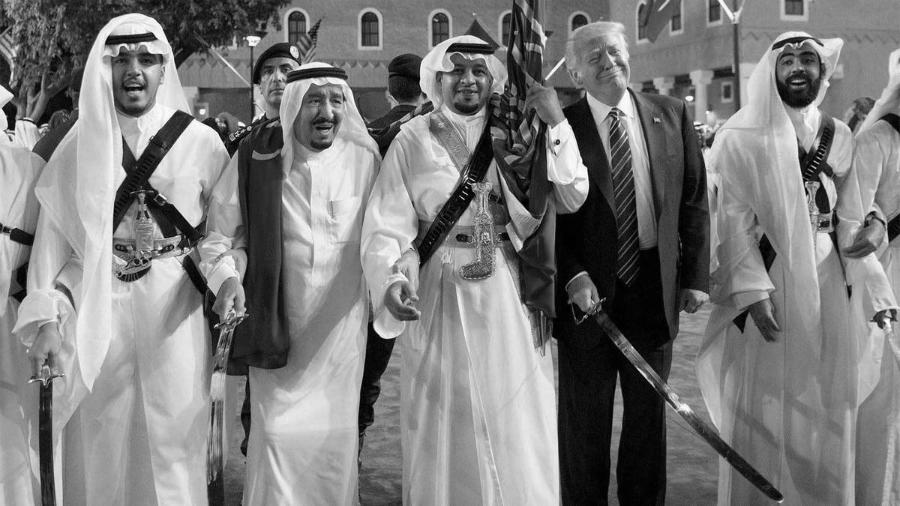Arabia Saudi familia real la-tinta