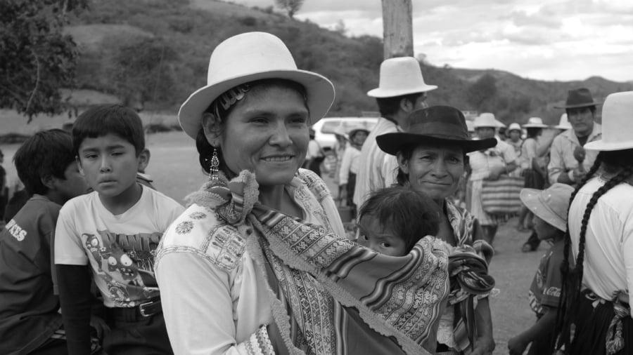 Bolivia mujeres agricultura la-tinta
