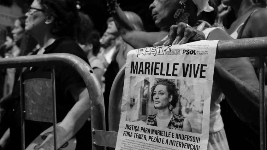 Brasil-Marielle-Franco-cartel-la-tinta
