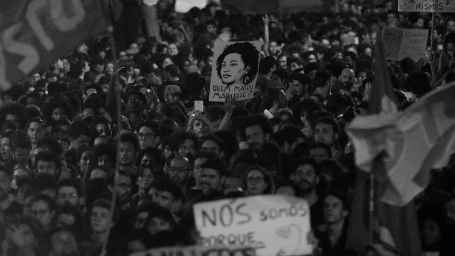 Brasil-Marielle-Franco-movilizacion-la-tinta