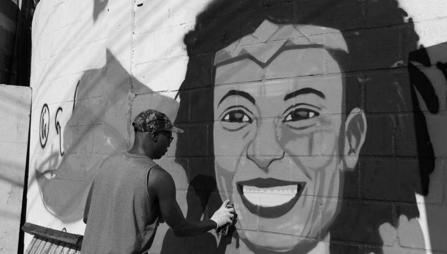Brasil-Marielle-Franco-mural-la-tinta