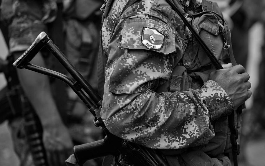 Colombia FARC EP guerrilla la-tinta
