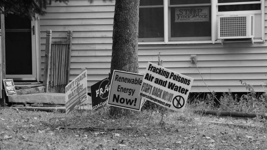 Estados Unidos fracking rechazo la-tinta