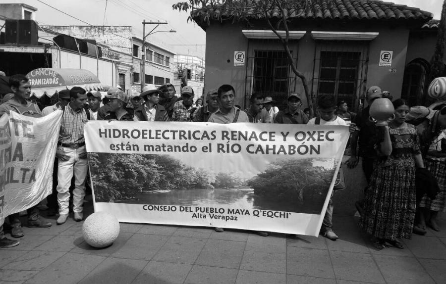 Guatemala-protesta-contra-hidroelectrica-la-tinta
