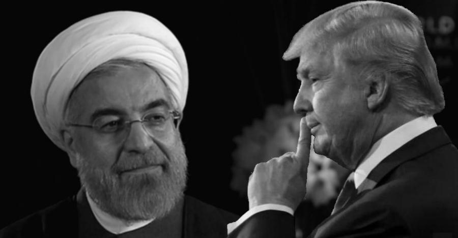 Iran Donald Trump Hasan Rohani la-tinta