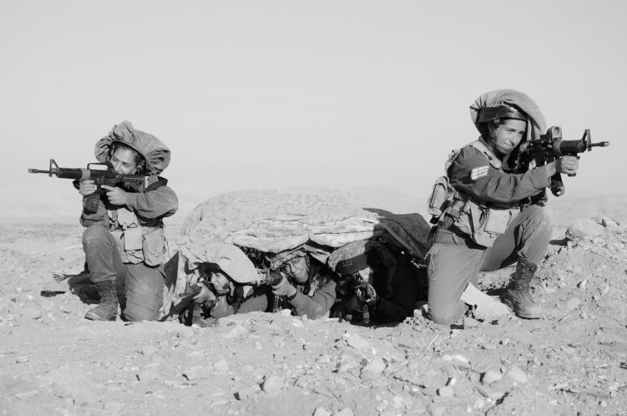 Israel mujeres soldados la-tinta
