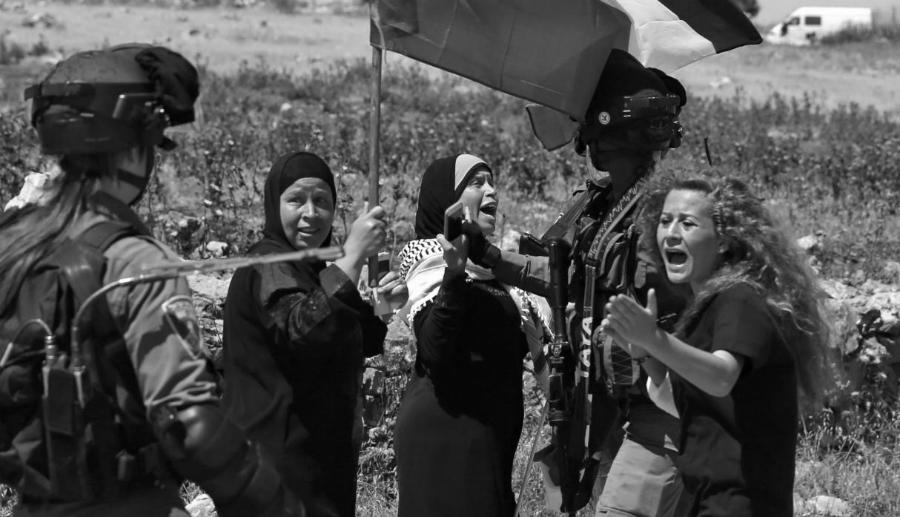 Palestina Ahed Tamimi militares israelies la-tinta