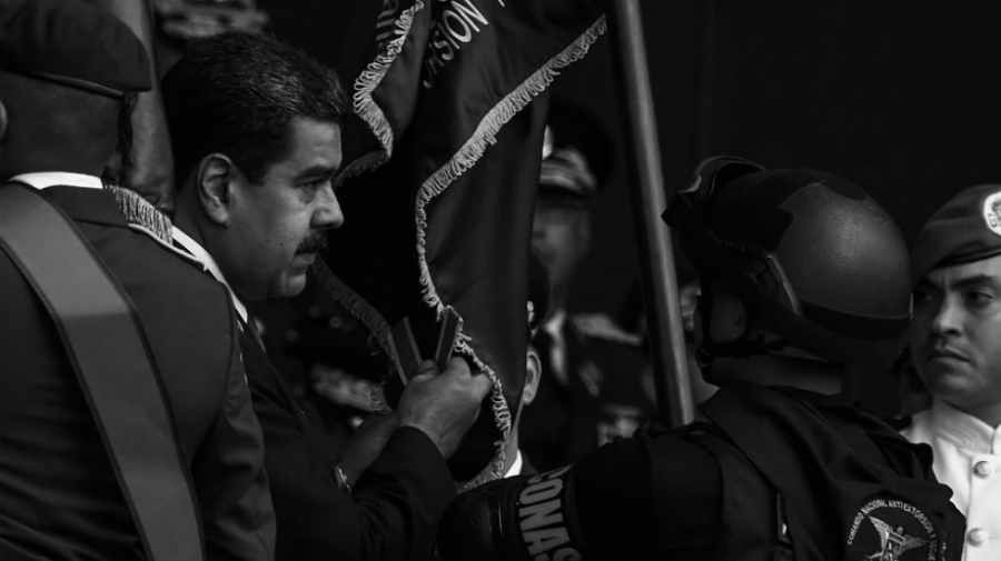 Venezuela-Nicolas-Maduro-atentado-en-acto-la-tinta
