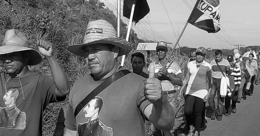 Venezuela-marcha-campesina-Caracas-la-tinta