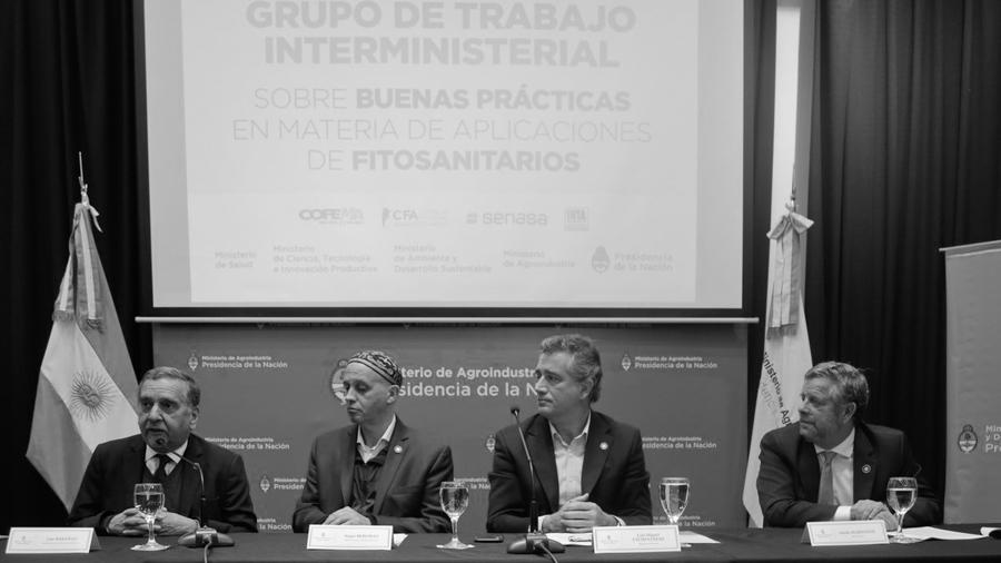 campo-Ministros-Agroindustria-Medio-Ambiente-Salud-Ciencia-Tecnologia-buenas-practicas agricolas-agrotoxicos-fumigaciones