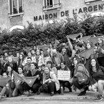 París: represalia contra estudiantes y artistas de Argentina por expresarse a favor del aborto