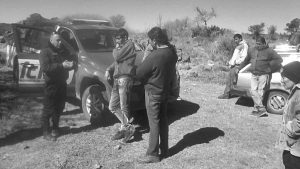El Movimiento Campesino frenó desalojo en el Departamento Pocho