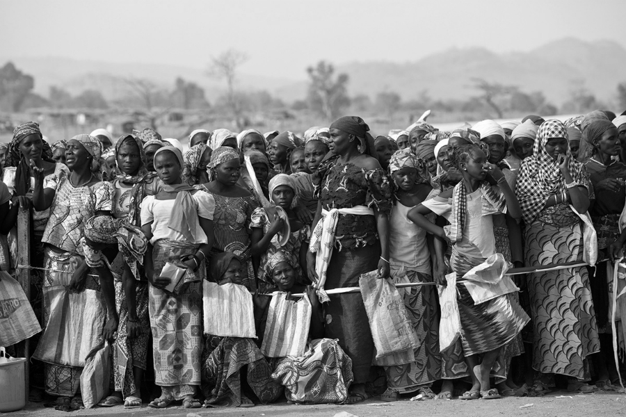 Africa refugiados la-tinta
