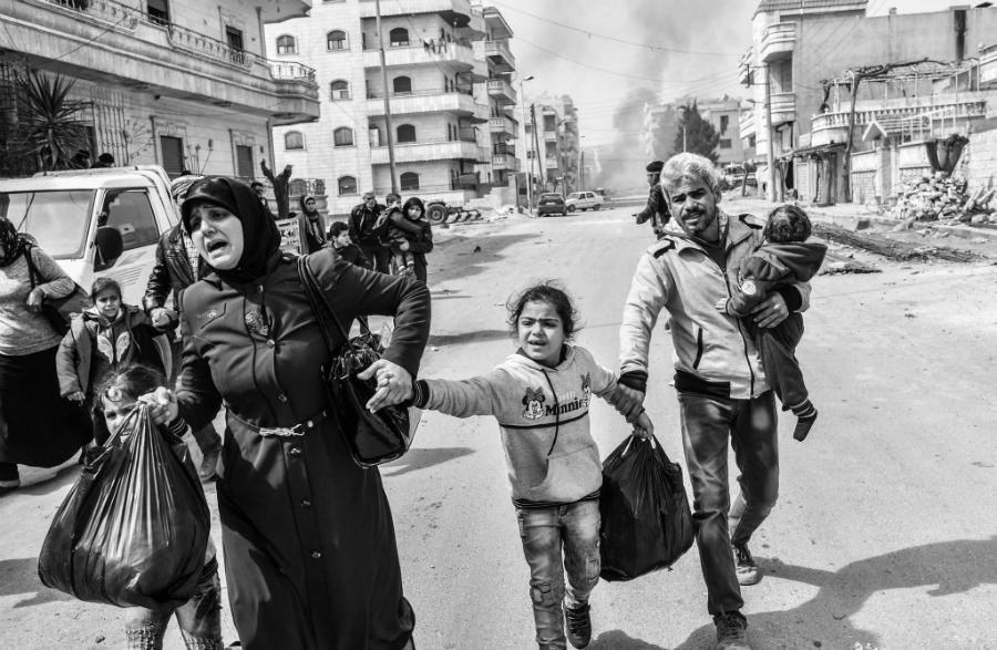 Afrin ciudad desplazados la-tinta