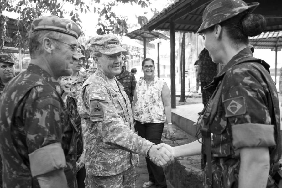 Brasil Comando Sur reunion la-tinta