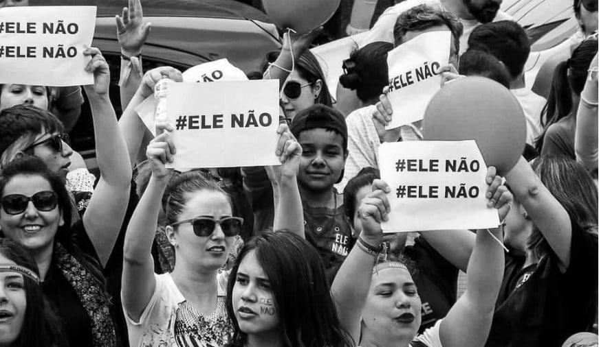 Brasil EleNao la-tinta