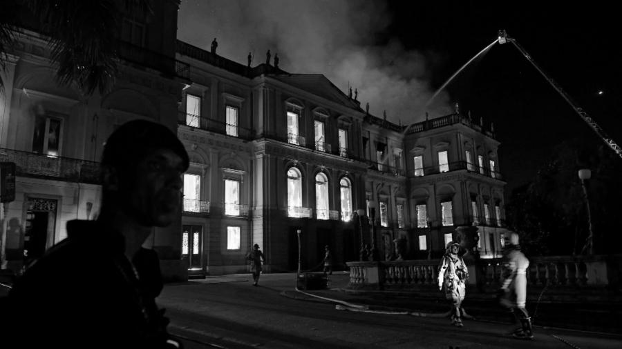 Brasil Museo Nacional bomberos la-tinta