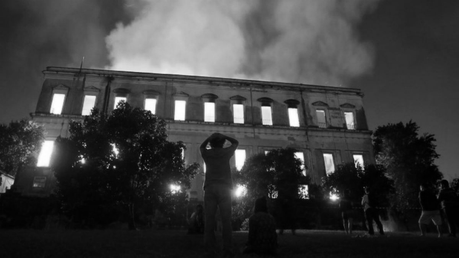 Brasil Museo Nacional incendio la-tinta