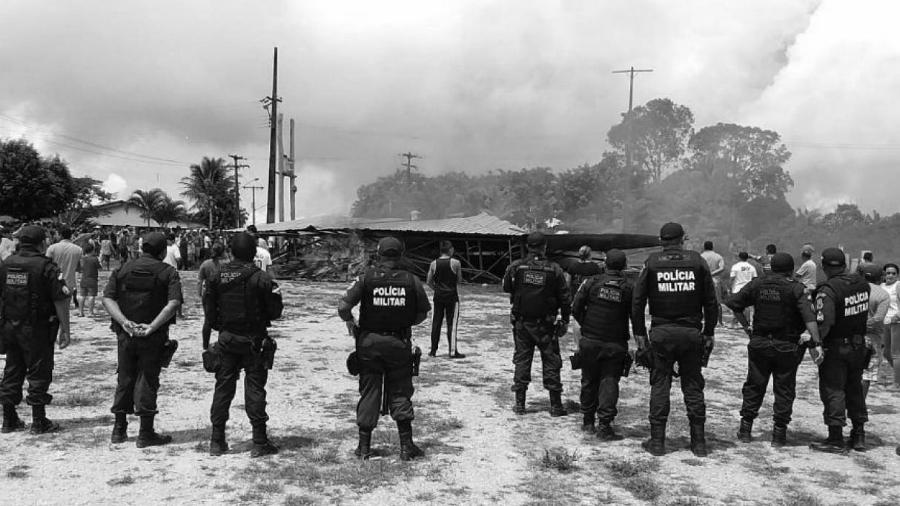 Brasil militares en frontera con Venezuela la-tinta