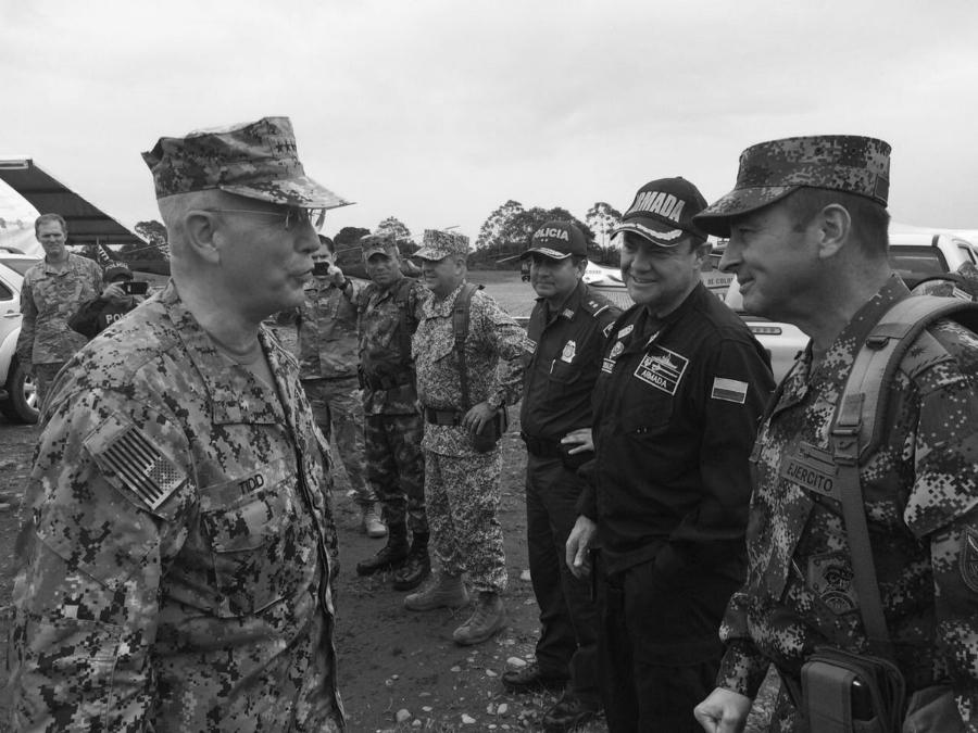Colombia militares etsadounidenses la-tinta