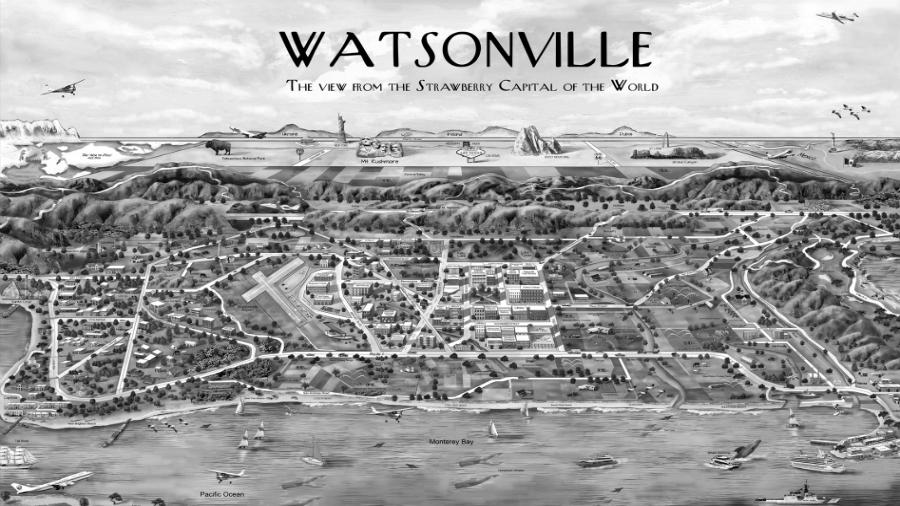 Estados Unidos Watsonville la-tinta