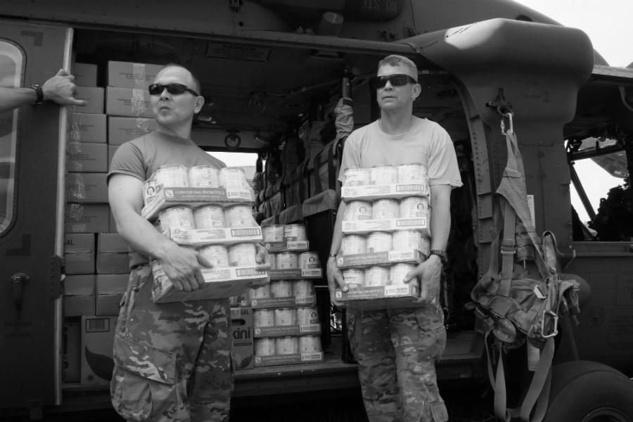 Estados Unidos ayuda humanitaria la-tinta