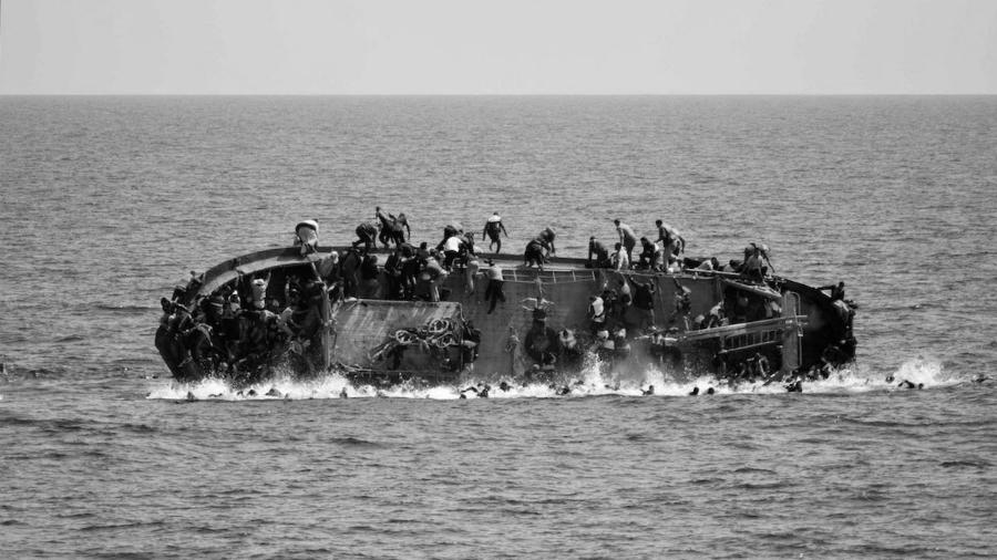 Europa refugiados en el mediterraneo la-tinta