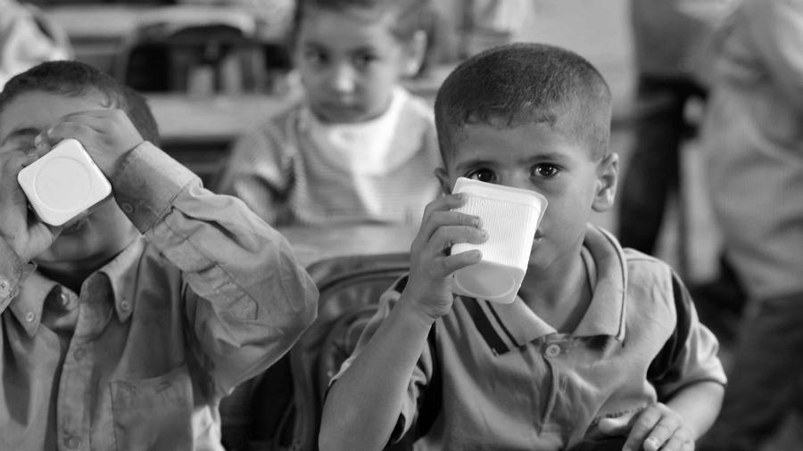 Gaza escuela UNRWA la-tinta