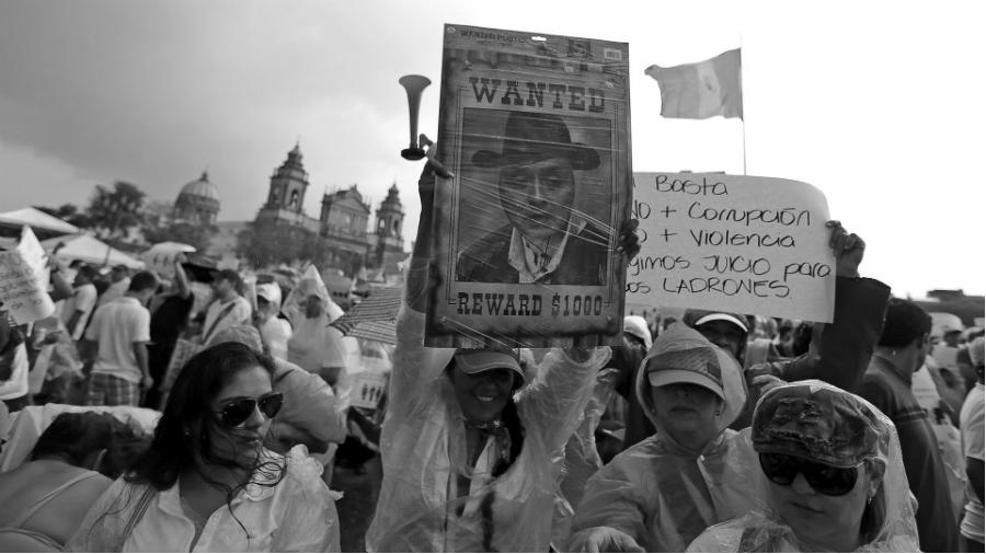 Guatemala protesta contra Jimmy Morales la-tinta