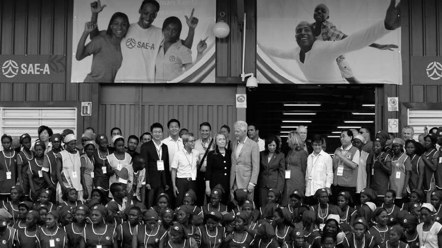 Haiti Bill Clinton la-tinta